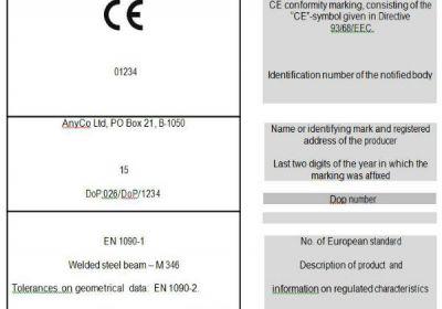 Çelik Yapı Malzemelerinde CE Etiketi Nasıl Hazırlanır?
