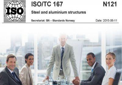 ISO CD 17607 Çelik Yapı Uygulamaları Standardı Komite Taslağına Yaptığım İtirazlar